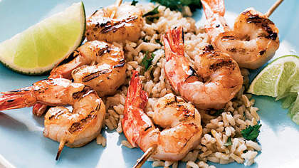 tequila-lime-shrimp-cilantro-rice