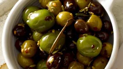 Warm Olives with Rosemary