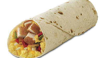 Chick-fil-A Chicken Breakfast Burrito