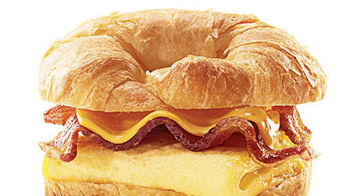 Burger King Egg and Cheese Croissan'wich