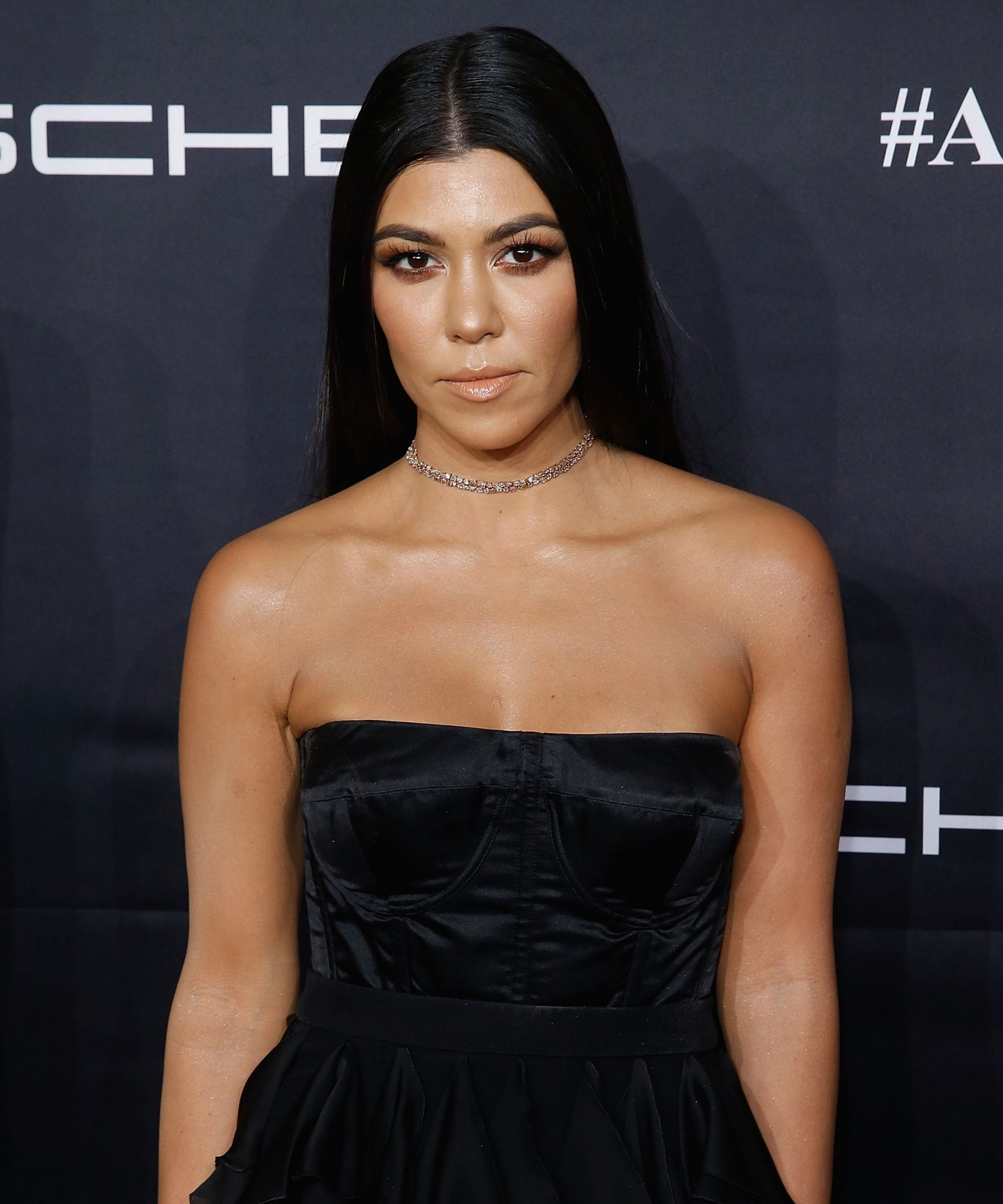 NEW YORK, NY - NOVEMBER 21: ; Kourtney Kardashian attends the 2016 Angel Ball at Cipriani Wall Street on November 21, 2016 in New York City. (Photo by John Lamparski/WireImage)