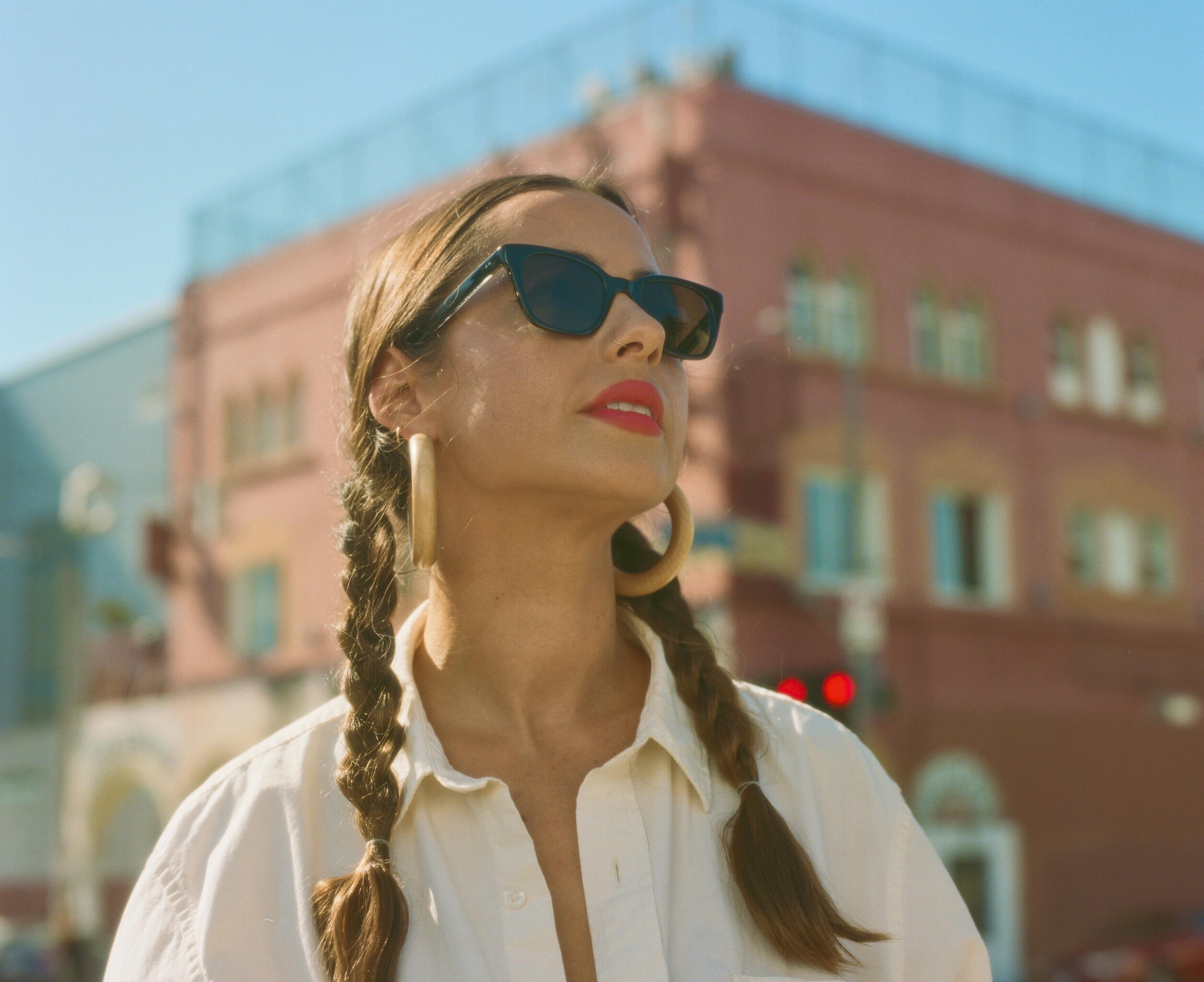 Garrett Leight Clare Vivier Sunglasses Collaboration