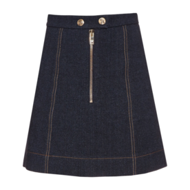 Sonia Rykiel A-line denim skirt