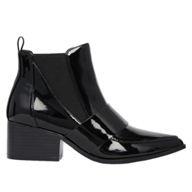 Pointed Chelsea Ankle Boots