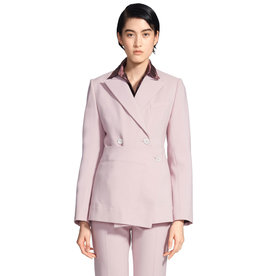 Tommie Wool Canvas Close Front Blazer