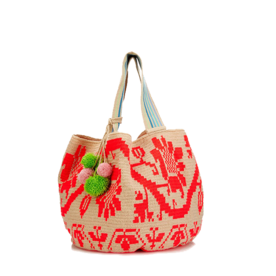 Sophie Anderson Woven Cotton Tote