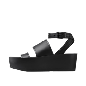 Vince Vienna Leather Platform Sandals
