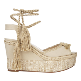 Paul Andrew Tassel-detail wedges
