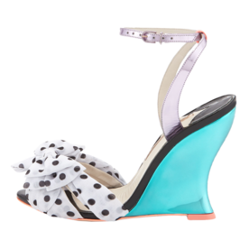 Sophia Webster Polka-Dot Wedge Sandal