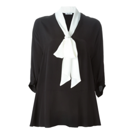 Dondup neck-tie blouse