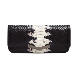 Snake-Embossed Gya Clutch