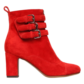 Tabitha Simmons Buckle Ankle Boots