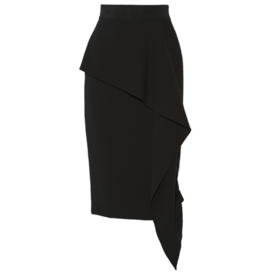 Milly jersey skirt