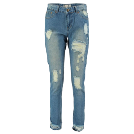 Jody Ultimate Distress Mom Jeans