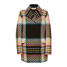 Marni Tweed check coat
