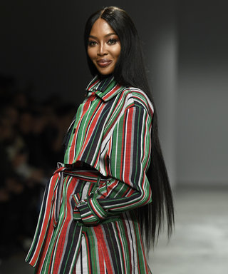 Naomi Campbell walking the Kenneth Ize runway, quarantine outfit, Making the Cut