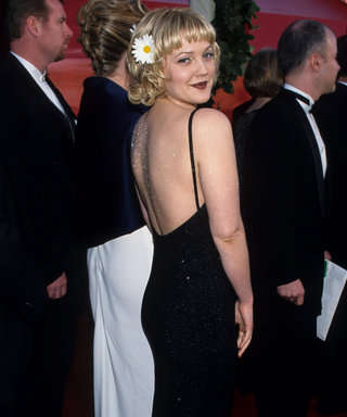 Daisy Fashion Trend 2020, Drew Barrymore at the Oscars 1998