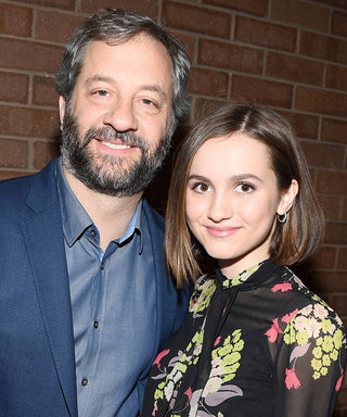Judd Apatow and actress Maude Apatow attend the 'Other People' Premiere during the 2016 Sundance Film Festival at Eccles Center Theatre on January 21, 2016 in Park City, Utah.