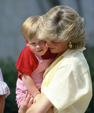 Princess Diana and Prince Harry lead