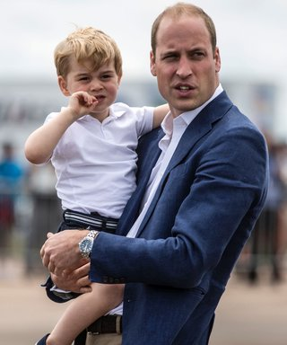 Prince George and Prince William lead