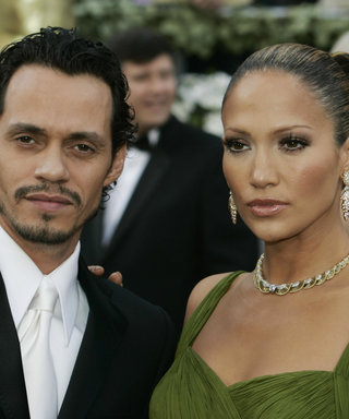 Singer Marc Anthony (L) and singer /actr