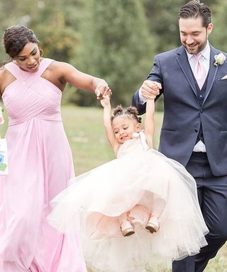 Serena Williams Wears a Bridesmaid Dress From Azazie