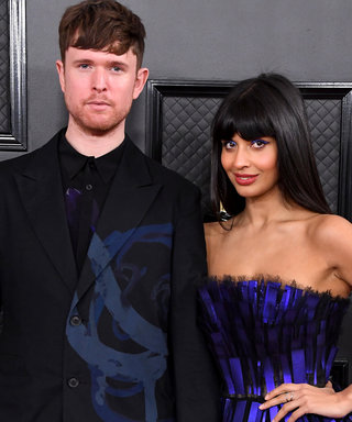 James Blake & Jameela Jamil - 62nd Annual GRAMMY Awards - Arrivals