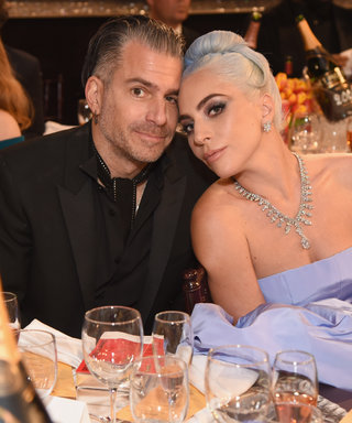 Lady Gaga & Christian Carino at The 76th Annual Golden Globe Awards