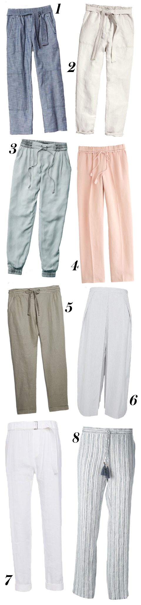Lightweight Summer Pants - Embed