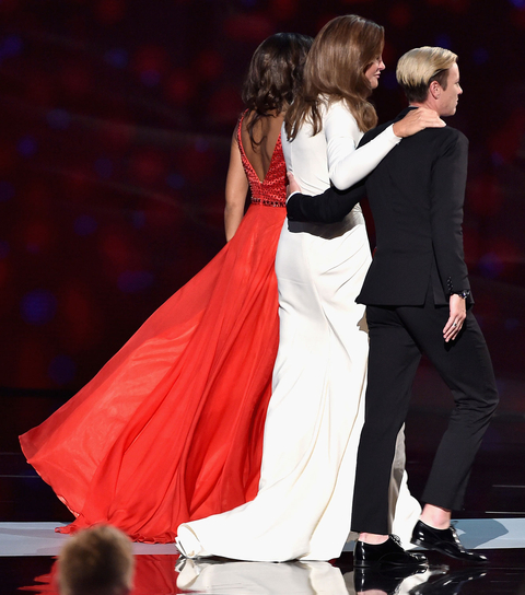 Caitlyn Jenner's Dress at the ESPYS - Back View