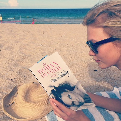 2. Delve into a page-turning beach read.