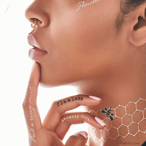 Beyonce Flash Tats - Embed 3