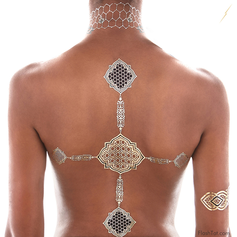 Beyonce Flash Tats - Embed 2