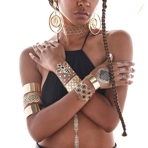 Beyonce Flash Tats - Embed 1
