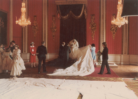 Charles and Diana Wedding Photos