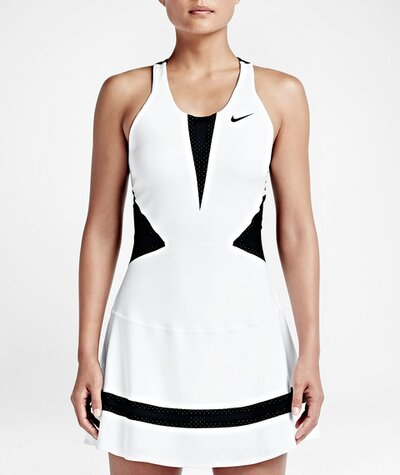 d425fd1f632a4 See Maria Sharapova s Tennis Dress and Outfit for the 2015 U.S. Open ...