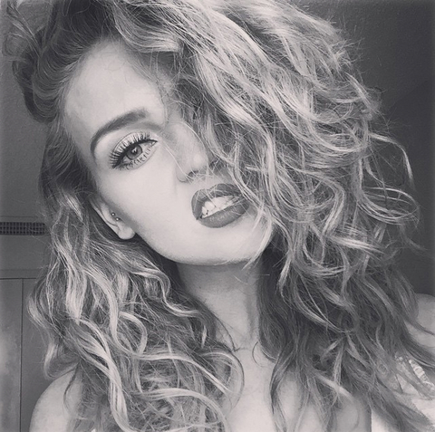 perrie edwards curls