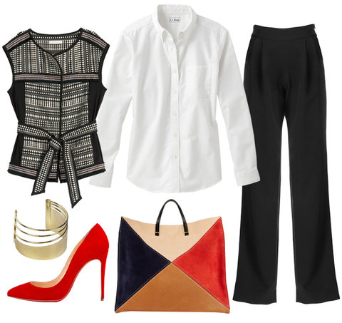 How to Wear White - Office