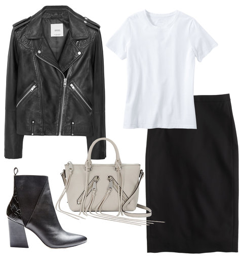 Pencil Skirts - Edgy