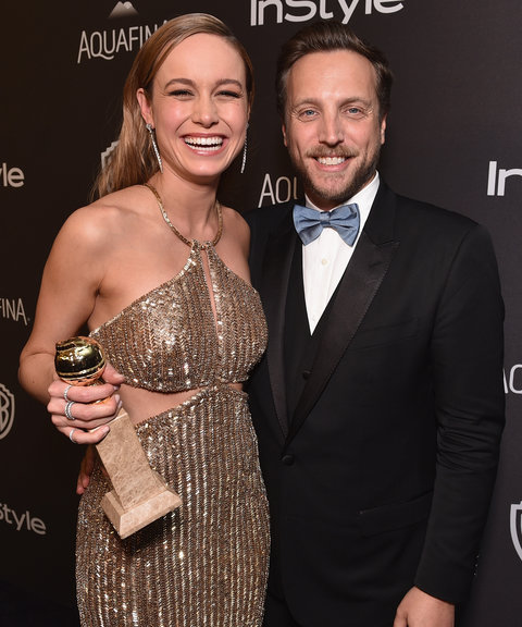 Brie Larson and Ariel Foxman