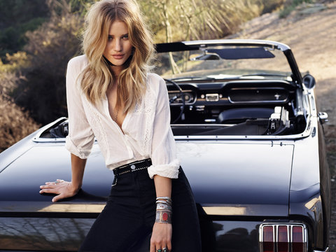 Rosie Huntington Whiteley Paige Denim
