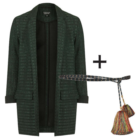 Blazer and Belt Perfect Pairing - Embed 2