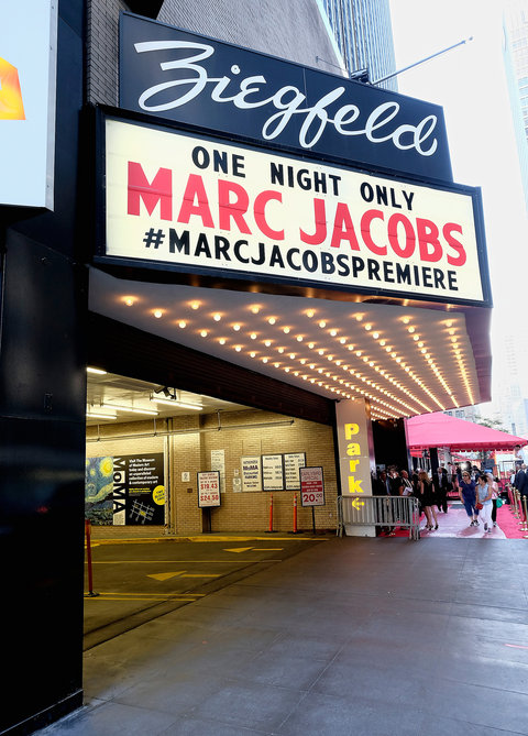 NEW YORK, NY - SEPTEMBER 17:  A general view of atmosphere at the Marc Jacobs Spring 2016 fashion show during New York Fashion Week at Ziegfeld Theater on September 17, 2015 in New York City.  (Photo by Dimitrios Kambouris/Getty Images for Marc Jacobs)