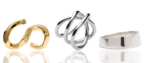 Sculptural Jewelry Rings Embed