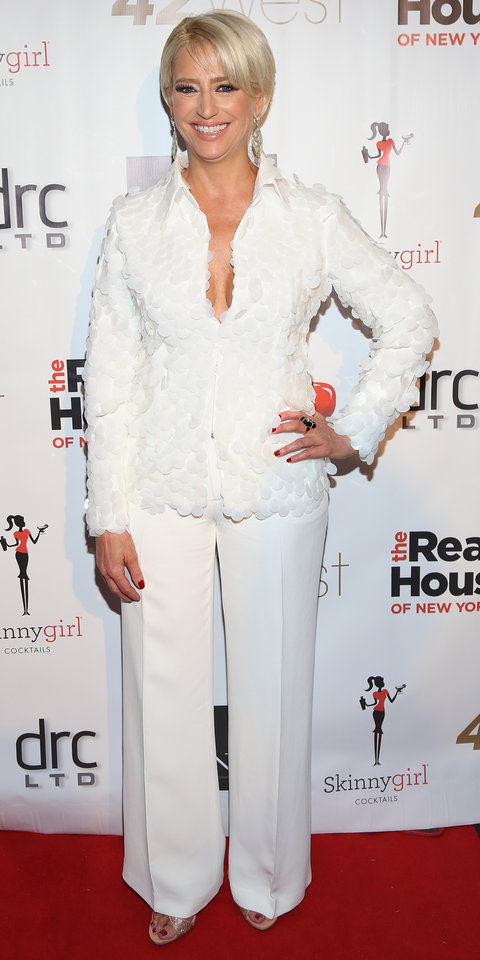 Dorinda Medley attends the 'The Real Housewives Of New York City' Screening Party at 42 West on April 6, 2016 in New York City.