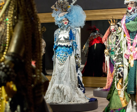 SCAD Atlanta – Winter 2016 – Exhibitions –  Be Yourself; Everyone Else is Already Taken  – Daniel Lismore – Behind The Scenes and Installation – SCAD Fash – Vogue Exclusive - Photography by Raftermen