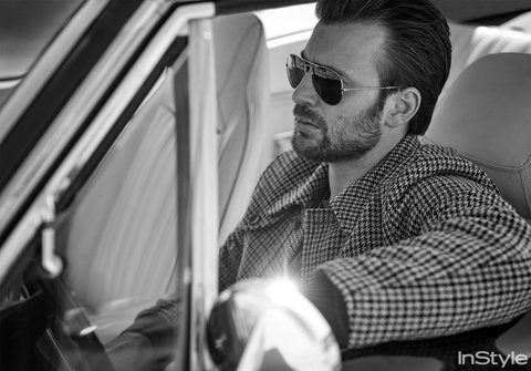Chris Evans- InStyle May 2016 - EMBED 2