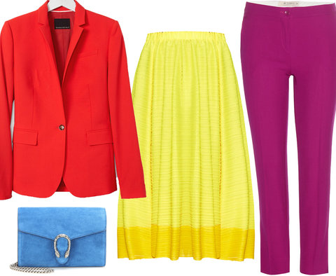 Wake Up Work Wardrobe with Colors - Embed 2016