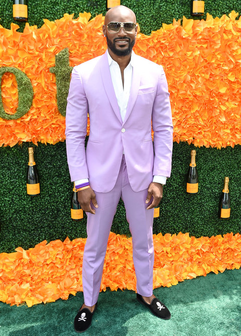JERSEY CITY, NJ - JUNE 04:  Model Tyson Beckford attends the Ninth Annual Veuve Clicquot Polo Classic at Liberty State Park on June 4, 2016 in Jersey City, New Jersey.  (Photo by Jamie McCarthy/Getty Images for Veuve Clicquot)