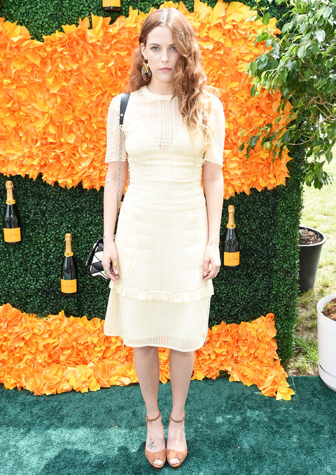 JERSEY CITY, NJ - JUNE 04:  Riley Keough attends the Ninth Annual Veuve Clicquot Polo Classic at Liberty State Park on June 4, 2016 in Jersey City, New Jersey.  (Photo by Jamie McCarthy/Getty Images for Veuve Clicquot)